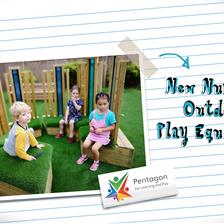 Our New Nursery Outdoor Play Equipment