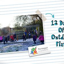 12 Days of Christmas Outdoor Play Activities