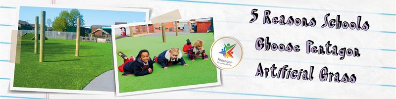 5 Reasons Schools Choose Pentagon Artificial Grass