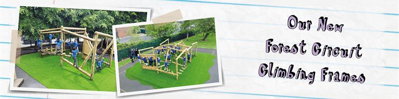 Our New Forest Circuit Climbing Frames