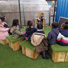 Foster a Love of Storytelling in Your Playground