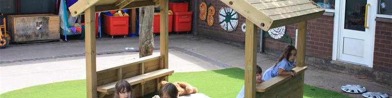 Main image for The Importance of a Creative Role Play Area blog post