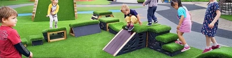 Main image for How to Improve Your Outdoor Nursery Provision for Movement Play blog post