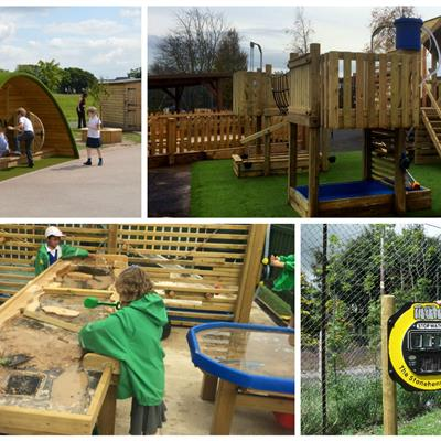Exciting School Playground Equipment