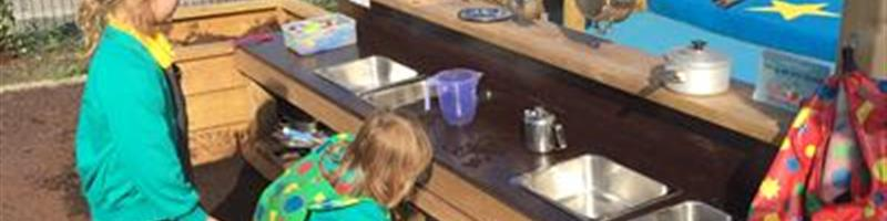 Mud Kitchen Activities and Lesson Ideas