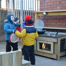 Outdoor Play and The EYFS Progress Check at Age 2
