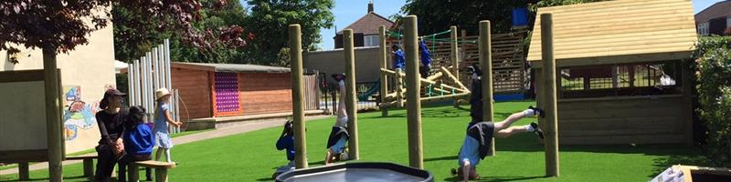 Promoting Risks Outdoors in the Playground