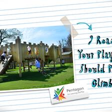 9 Reasons Your Playground Should Promote Climbing