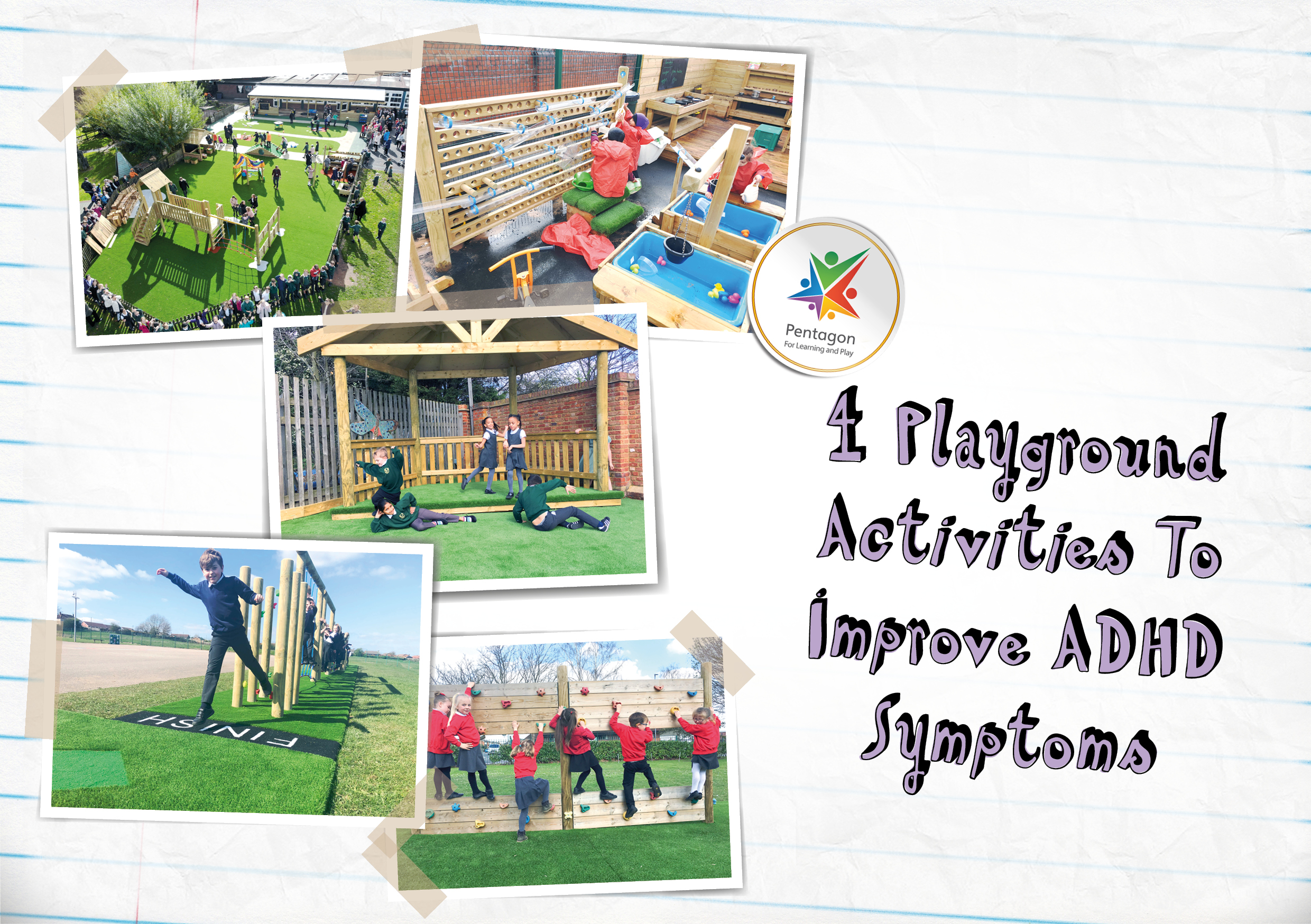 An Upside Of Having Adhd Outside Box >> 4 Playground Activities To Improve Adhd Symptoms Pentagon Play