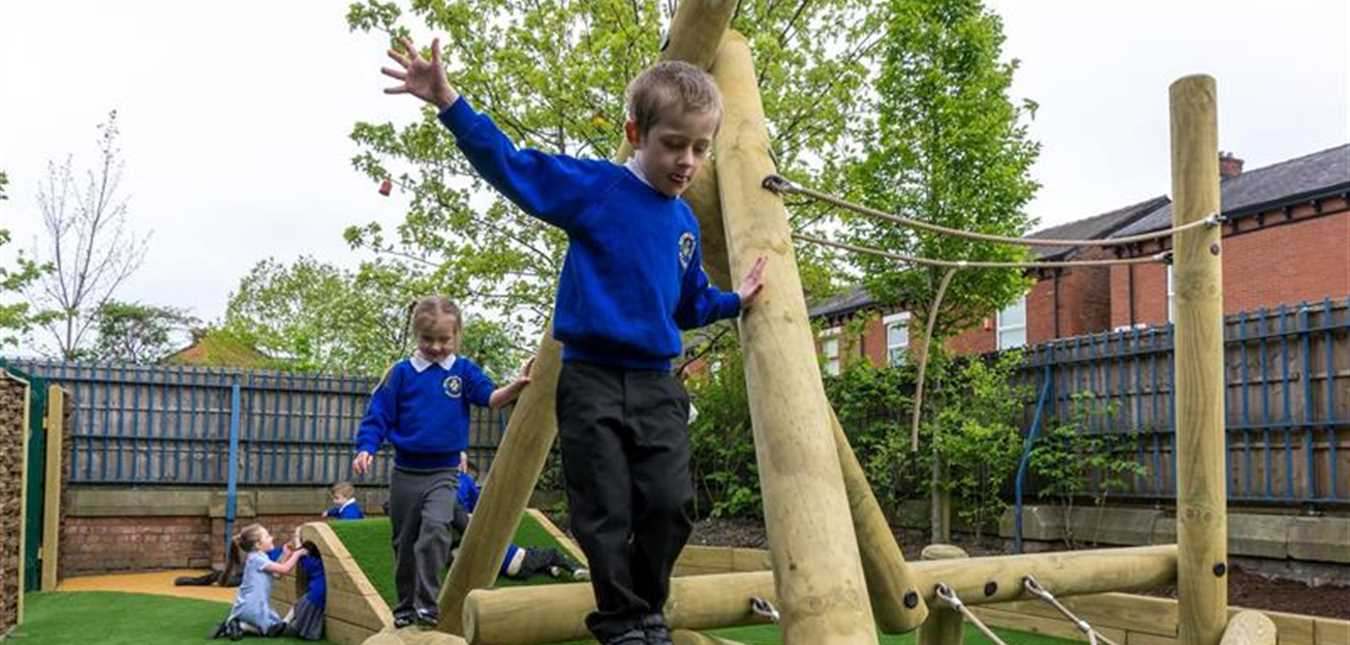 Develop Growth Mindset Through Outdoor Play