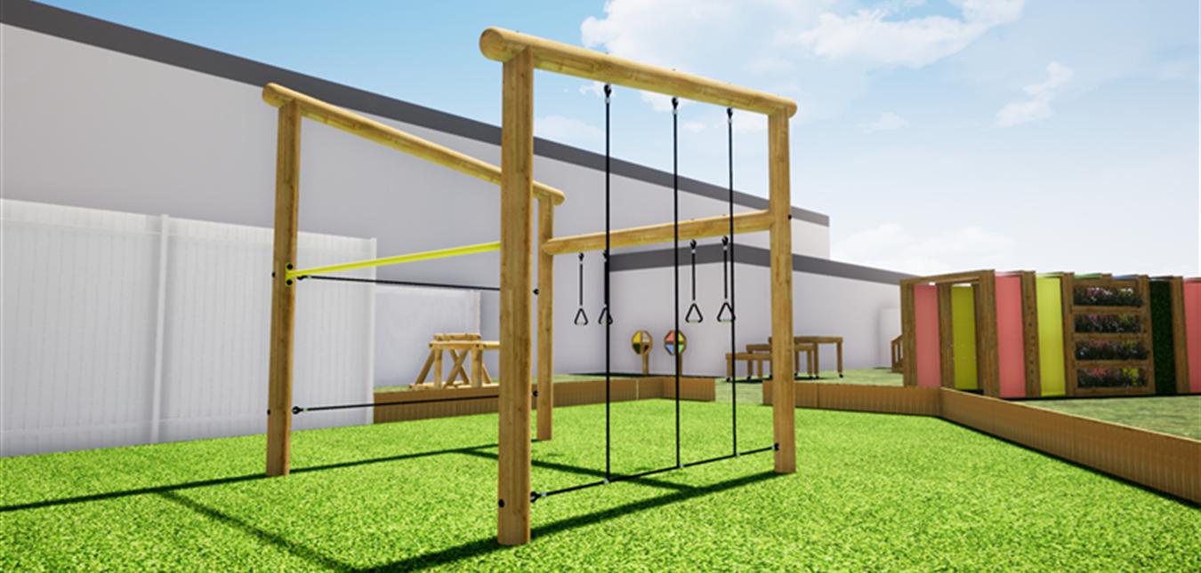 Our New SEN Playground Equipment
