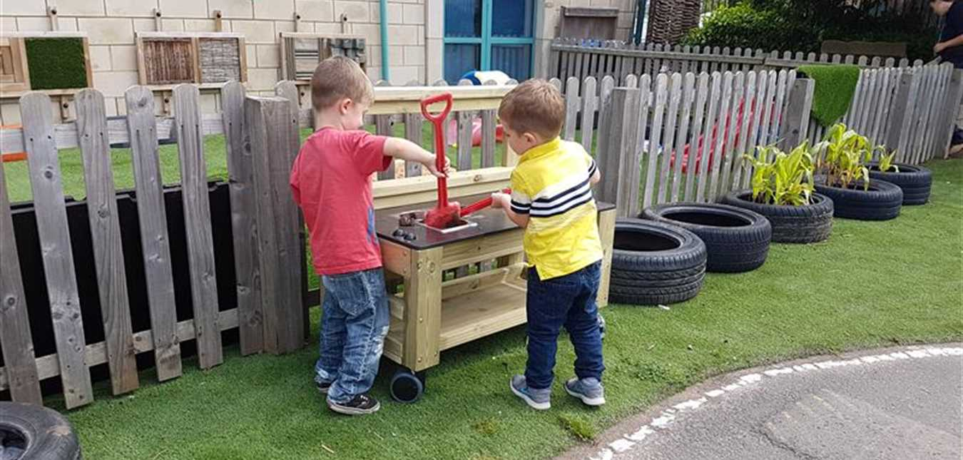 Our Nursery Outdoor Play Equipment