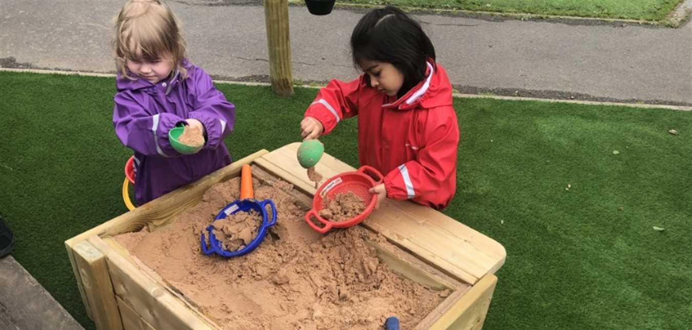 Importance of Sensory Play In Nursery