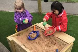 Header image for Importance of Sensory Play In Nursery blog post