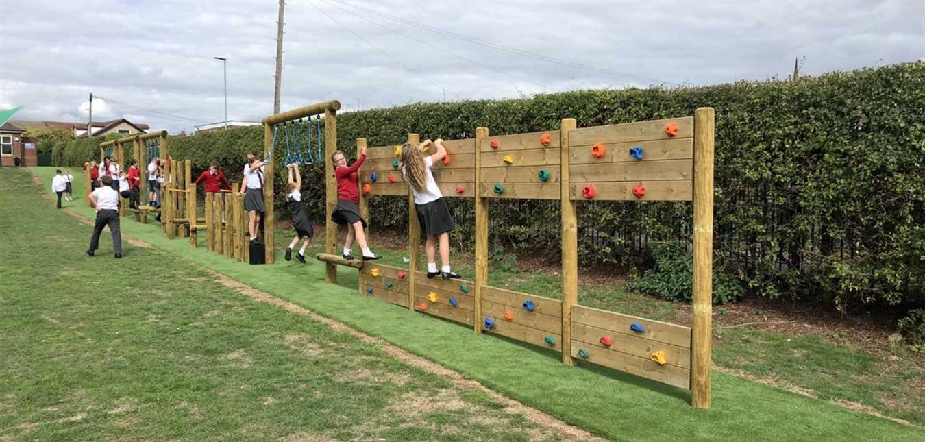 Playground Equipment In Derbyshire