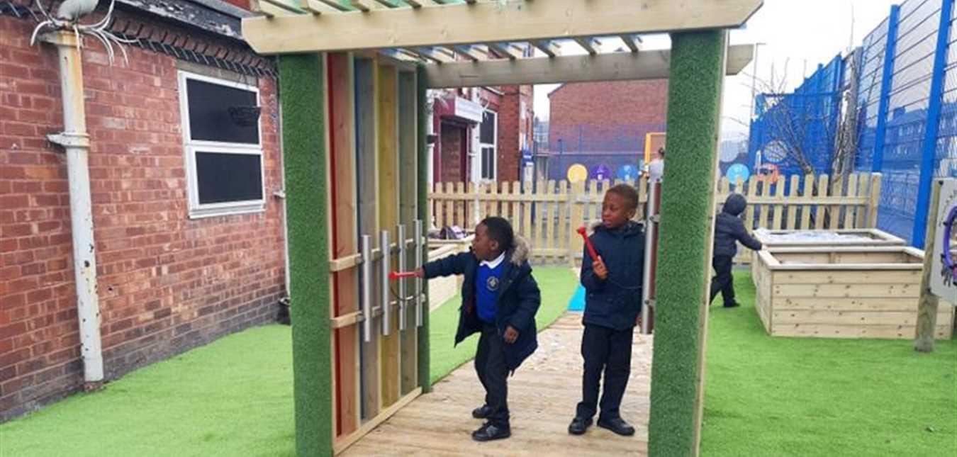 Stirring The 7 Senses in Your School Playground