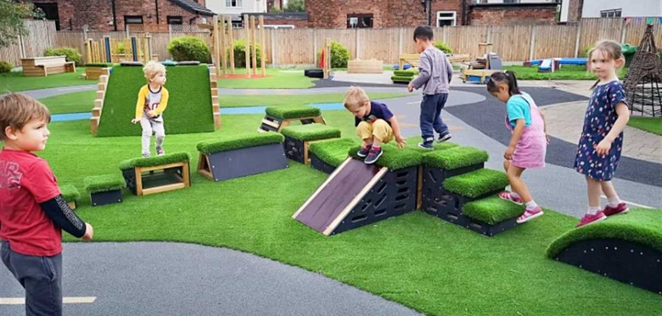 How to Improve Your Outdoor Nursery Provision for Movement Play
