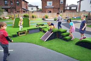 Header image for How to Improve Your Outdoor Nursery Provision for Movement Play blog post