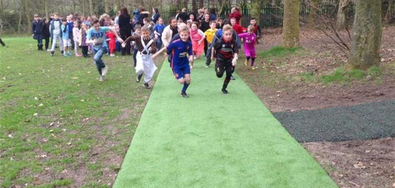 Implement a designated Daily Mile Track at your school