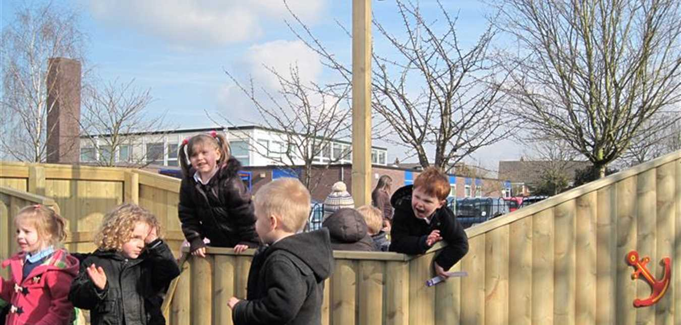 Outdoor Play Supports the Early Years Curriculum