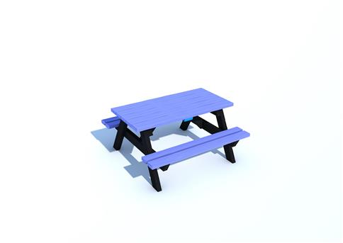 Recycled Picnic Bench (1200mm)