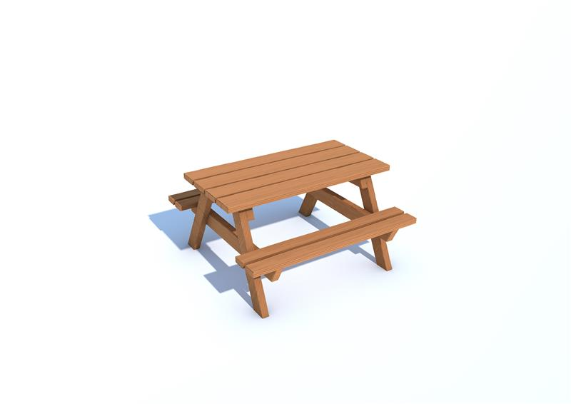 Timber Effect Recycled Picnic Table Pentagon Play - Pentagon picnic table
