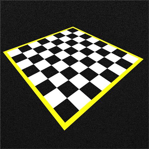 Wetpour Chessboard