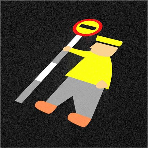 Wetpour Lollipop Person