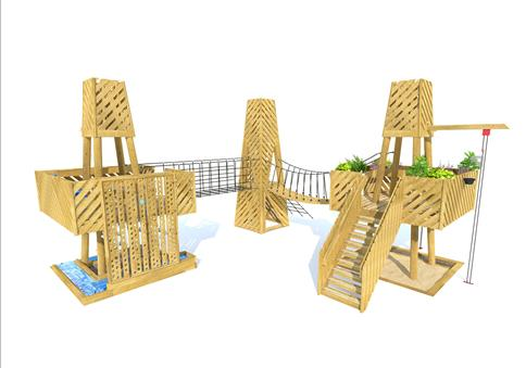 Haddon Investigative Play Tower