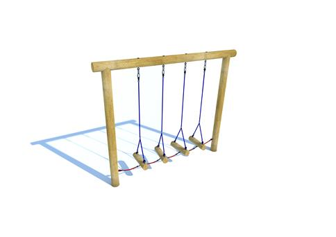 Swinging Log Traverse