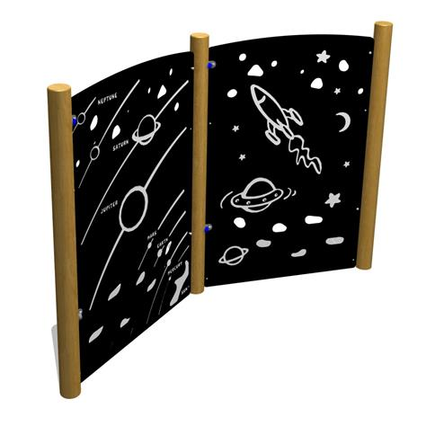 Space Panels Traverse Wall