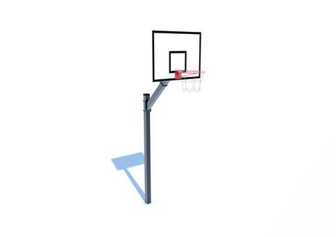 Adjustable Basketball Post