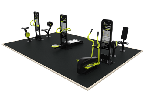 KS1 Busy Bee Outdoor Gym Package