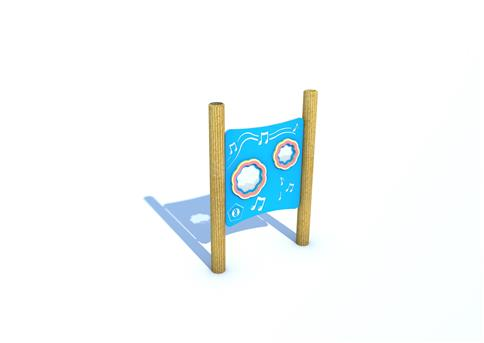 Shaker Panel on Posts