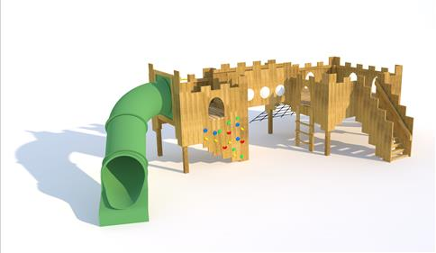 Langley Play Castle 1.5M