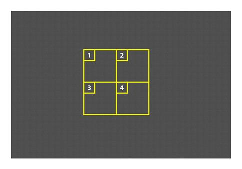 4 Square Game Markings