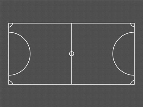 Football Pitch (Outline)