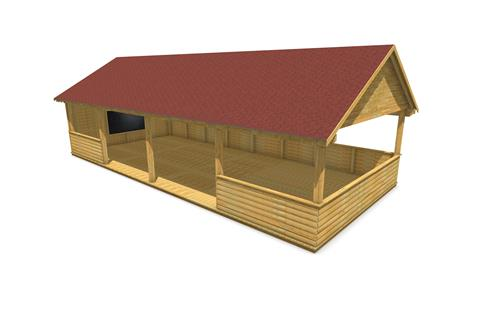 Gable-End Outdoor Classroom Options