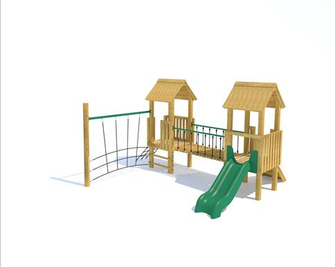 Tintagel Modular Play Tower