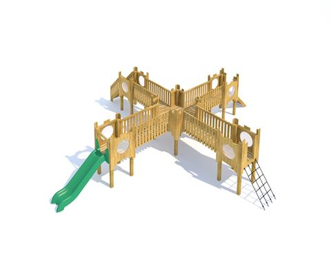 Beeston Modular Play Tower