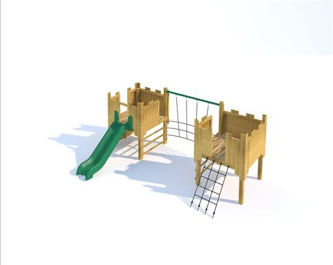 Bolsover Modular Play Tower