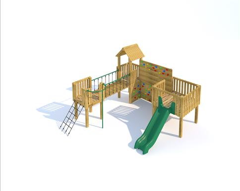 Warkworth Modular Play Tower