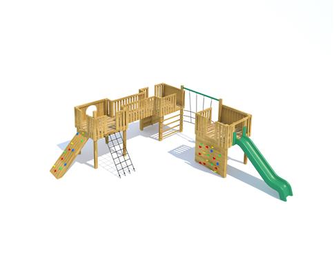 Bodiam Modular Play Tower
