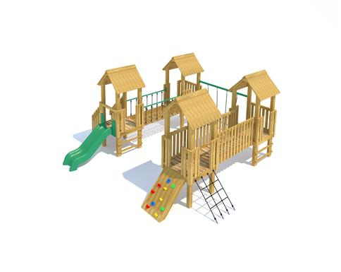 Goodrich Modular Play Tower