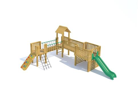 Carisbrooke Modular Play Tower