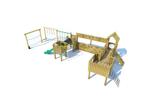Framlingham Modular Play Tower