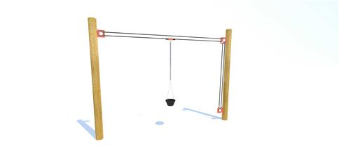 Rope and Pulley Materials Mover