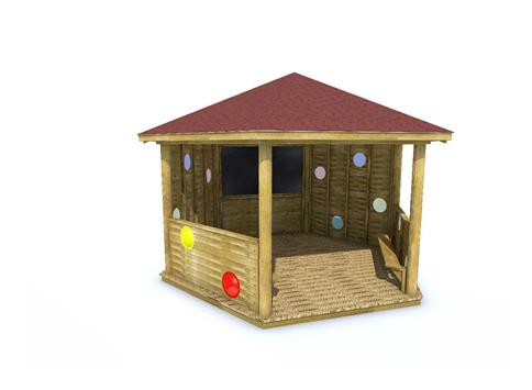Sensory 5M Hexagonal Gazebo