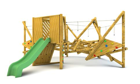 Crinkle Crags Climber with Platform and Slide