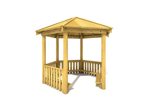 3.5M Hexagonal Gazebo